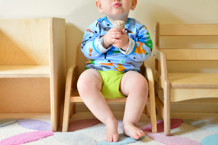 Otto on me do it chair at How we Montessori