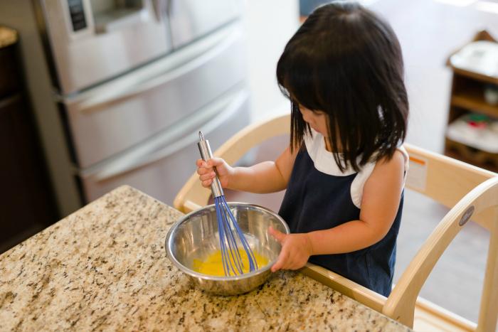 Bella's Casa Cooking at How we Montessori