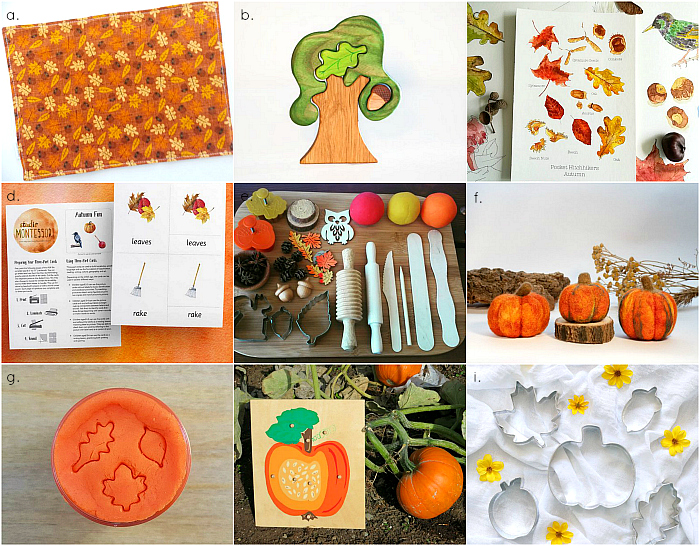 Awesome Autumn Etsy finds at How we Montessori