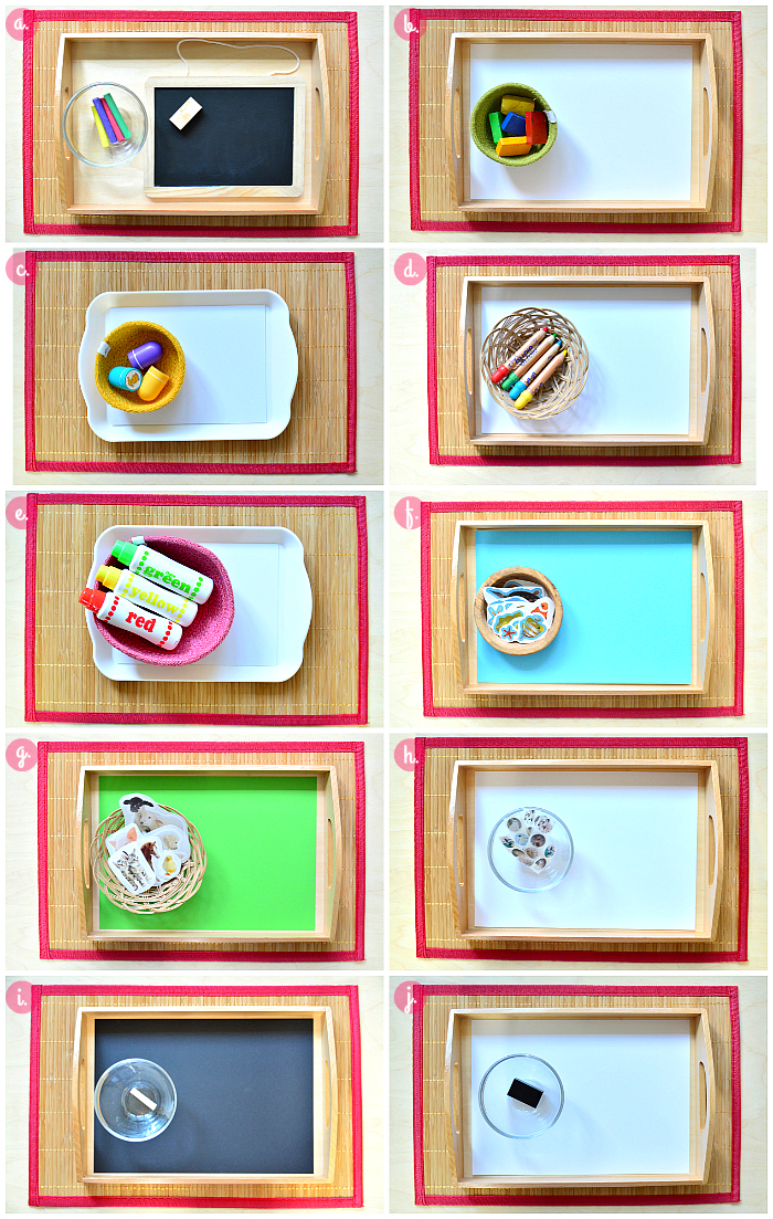 Montessori Toddler Art Activities to Rotate at How we Montessori-2