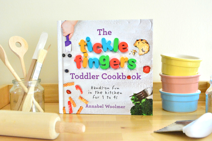 The Tickle Fingers Toddler Cook Book at HWM
