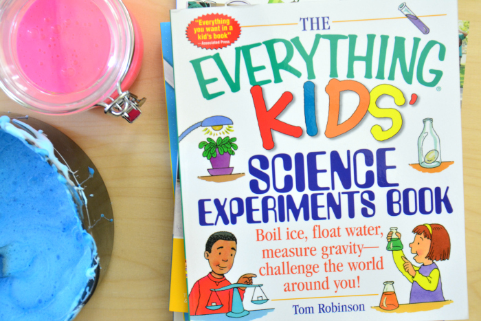Our Top 5 Science Experiment Books for Children - how we