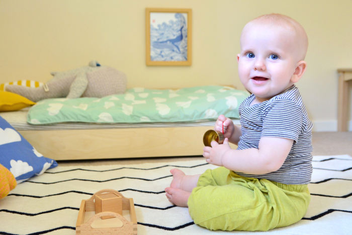 Montessori Baby Bedroom at 10 months at How we Montessori  Otto