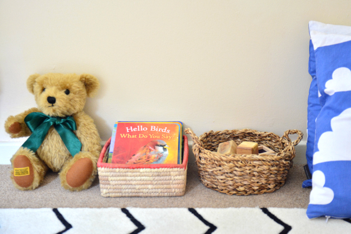Otto's bear and open ended materials at HWM