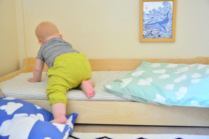 Otto's Montessori Bed at How we Montessori
