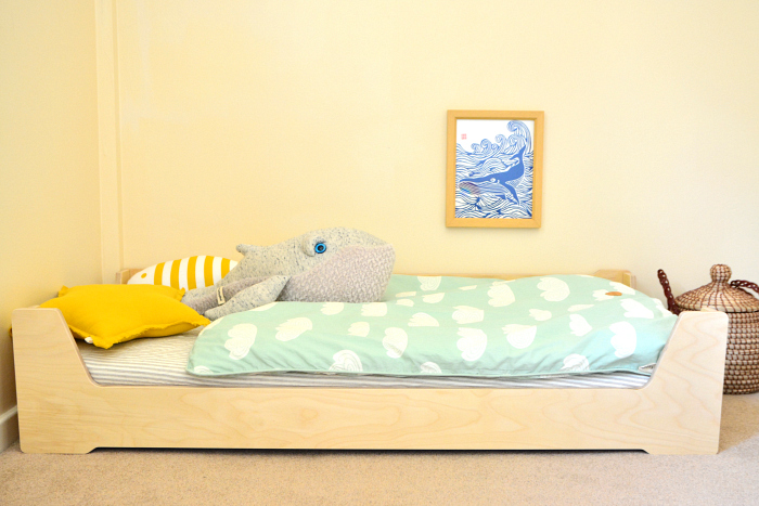 Otto's Montessori Bed at How we Montessori