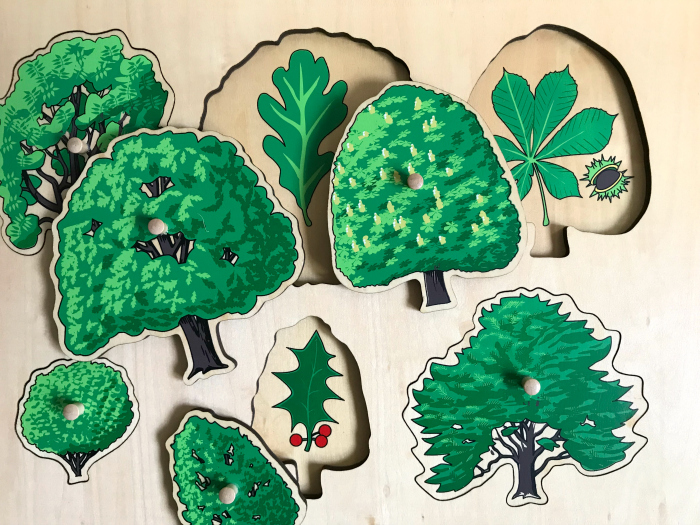 British tree puzzle at How we Montessori