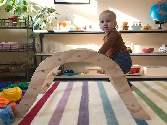 Otto sensitive period for movement at How we Montessori  14 months