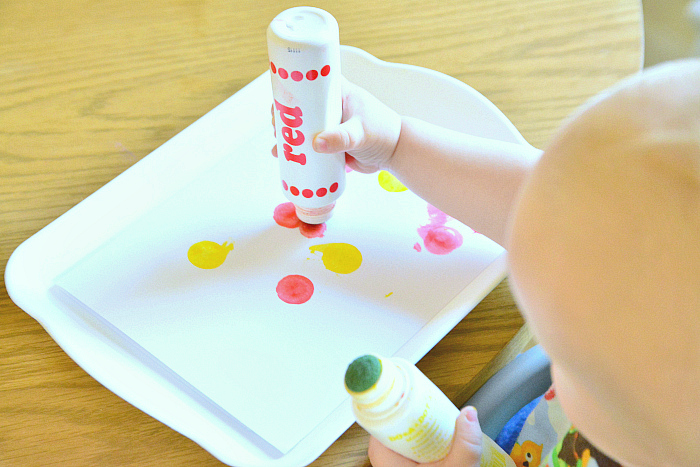 Montessori trays  How we Montessori  dot markers