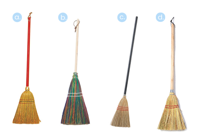 Montessori `straw brooms at `how we Montessori