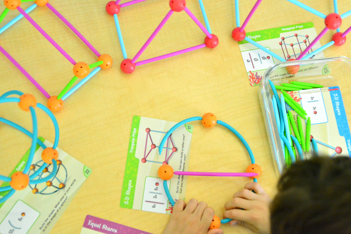 Geoshapes  learning resources kit at How we Montessori