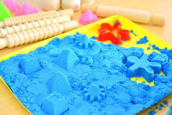 Magnetic Sand National Geographic at How we Montessori