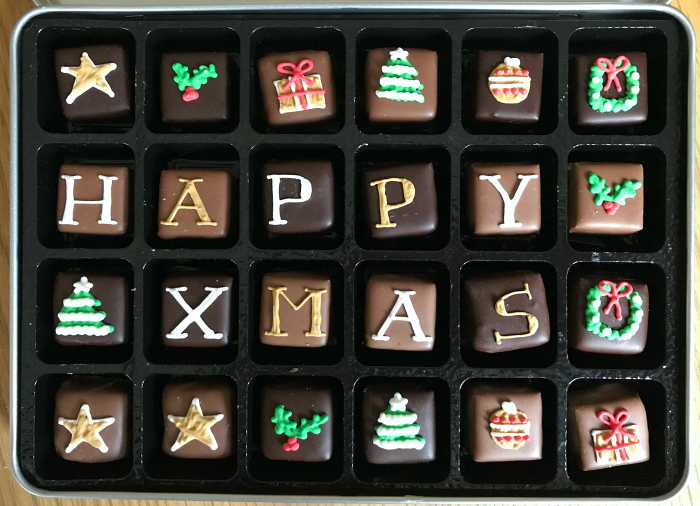 Happy Christmas Chocolates at how we Montessori 2018