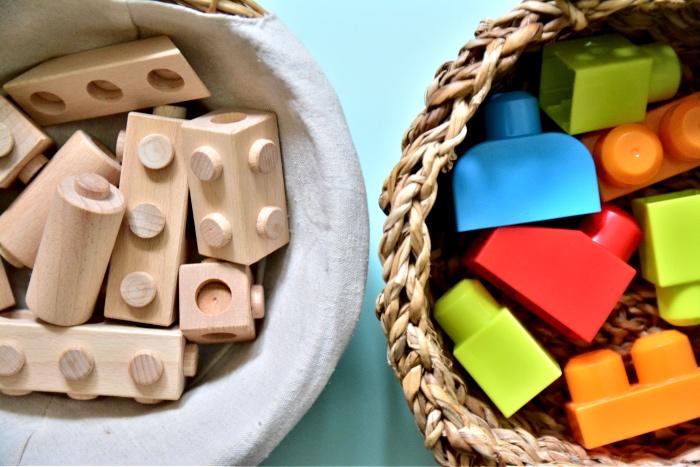 Wooden alternatives to Lego  Duplo and Mega Blocks at How we Montessori-2