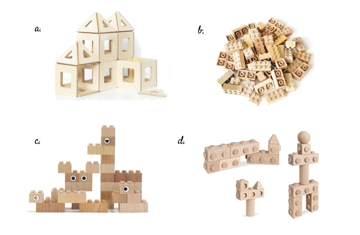 Wooden alternatives to Lego  Duplo and Mega Blocks at How we Montessori 2019