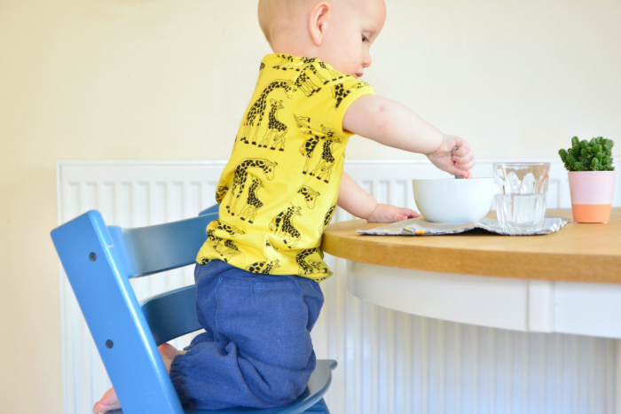 Montessori high chair at Home at HWM