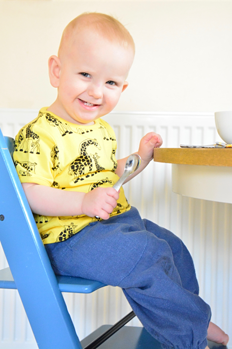 af8b4867646a OTTO 16 months Stoke Tripp Trapp. Many Montessori families use a weaning  table or a low table and chair until the child ...