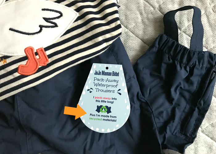 Pack Away Water Proof Trousers at How we Montessori