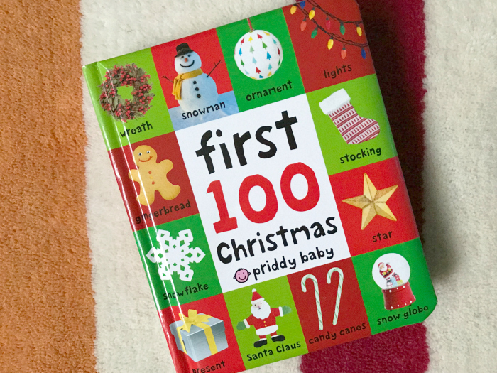 Montessori christmas board book