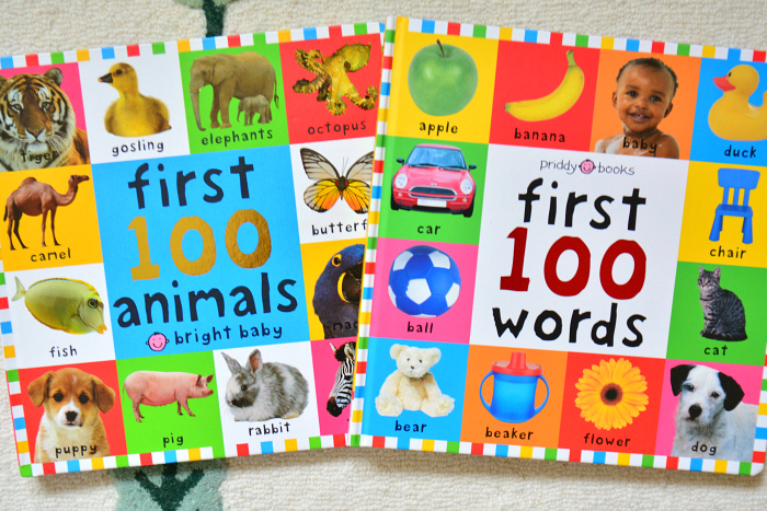 First 100 words at How we Montessori Board Books