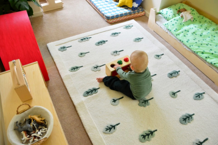 Montessori toddler room  17 months Feb 2019