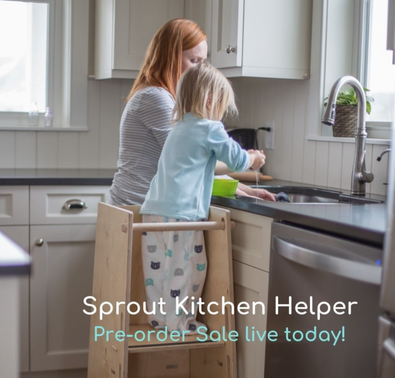 Sprout Kitchen Helper at HWM