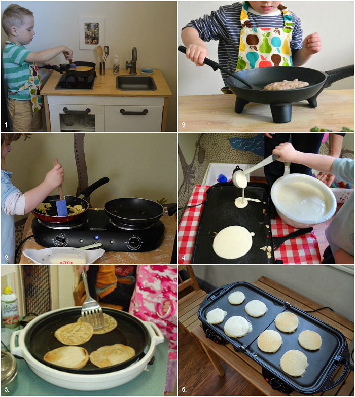 Electric skillets and hot plates in Montessori homes and schools