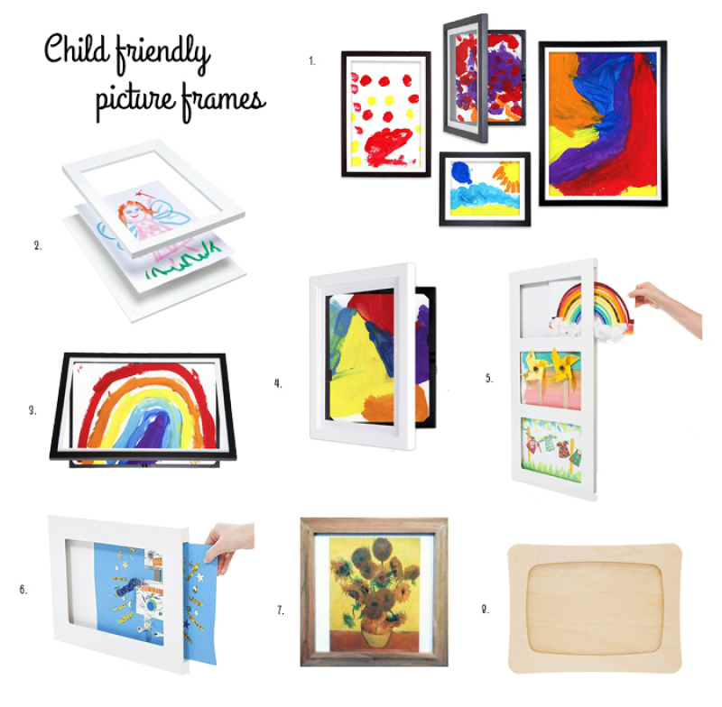 Child Friendly Picture Frames at How we Montessori-2