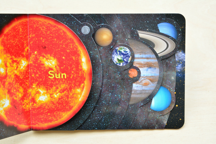 Our Solar System American Museum of Natural History Board Book at How we Montessori