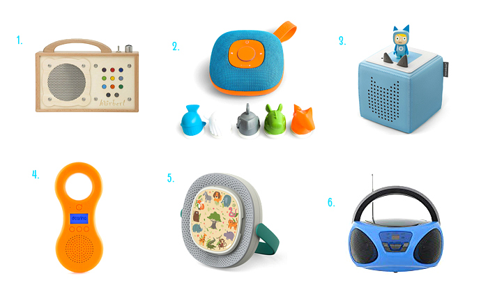 Toddler Music  and mp3 players at How we  Montessori