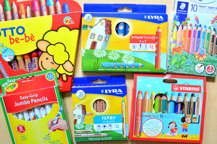 Best Pencils for Toddlers at How we Montessori  high end to budget