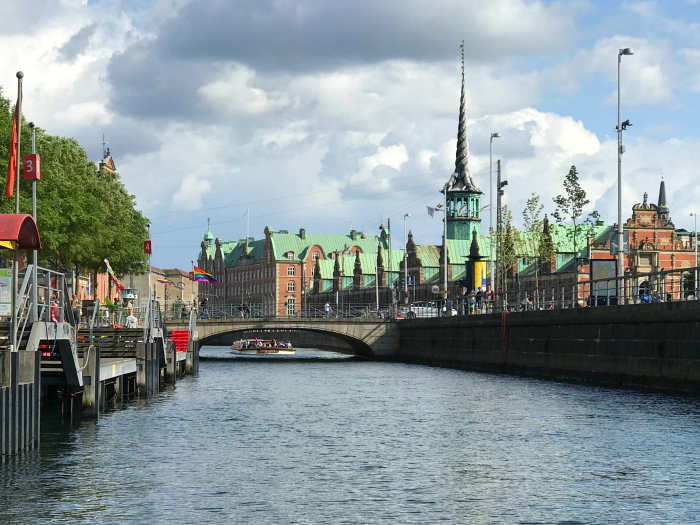Copenhagen canal tours at HWM