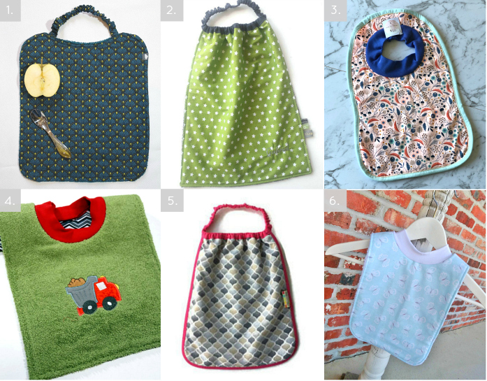 Montessori Style Bibs at How we Montessori 2019