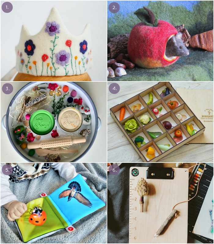 Waldorf and Montessori Finds I'm Loving and Buying on Etsy