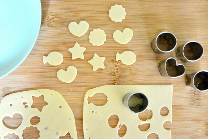 How we Montessori food preparation ideas with cheese Otto at 24 months