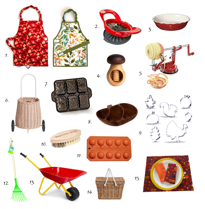 Montessori autumn practical life materials