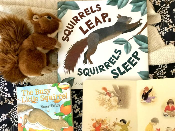 How we Montessori squirrel books Autumn