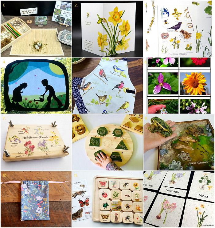 3ce942ad557 How we Montessori - spring materials