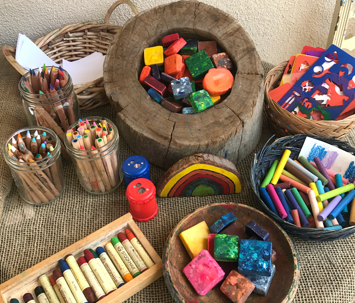 Best art materials for Toddlers at HWM