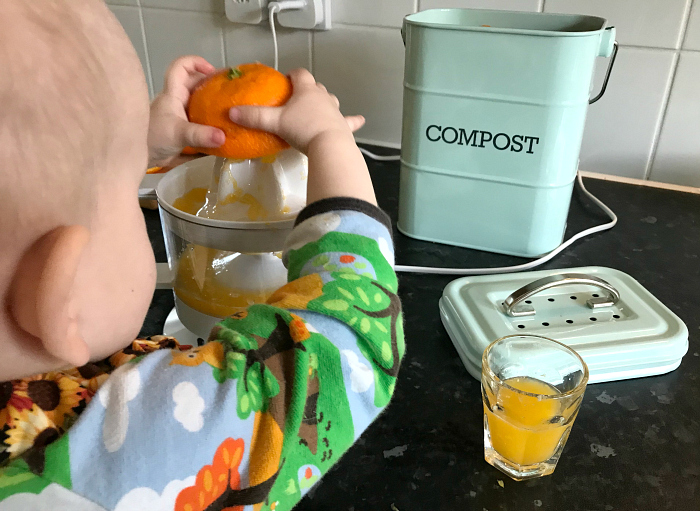 Otto electric orange juicer at how we montessori