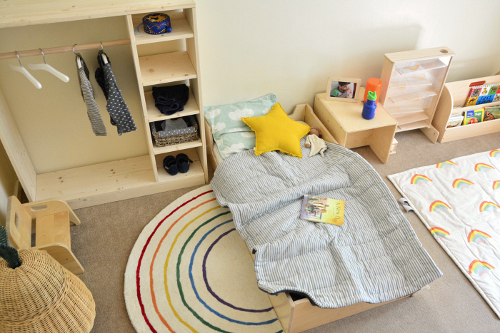 Bed made at How we Montessori