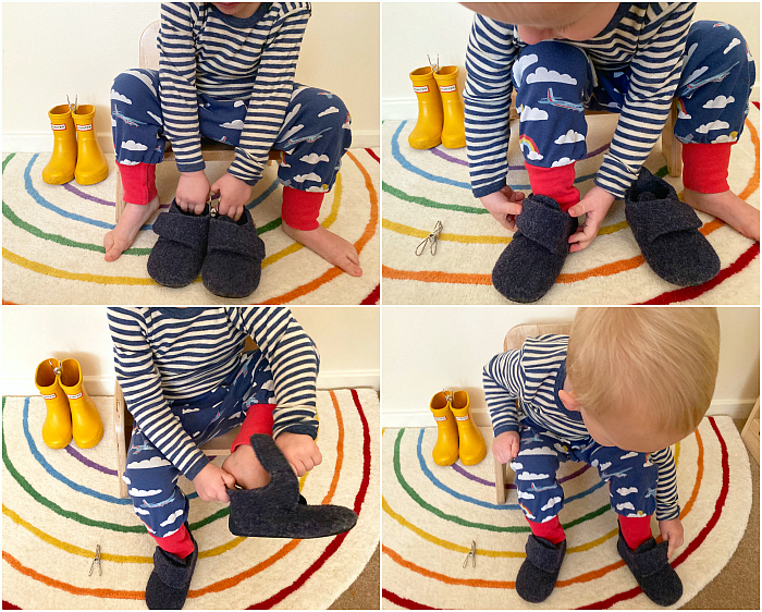 Montessori%20toddler%20putting%20on%20shoes%20at%2025%20months%20at%20How%20we%20Montessori%20Otto%2C%20slippers%20house%20shoes