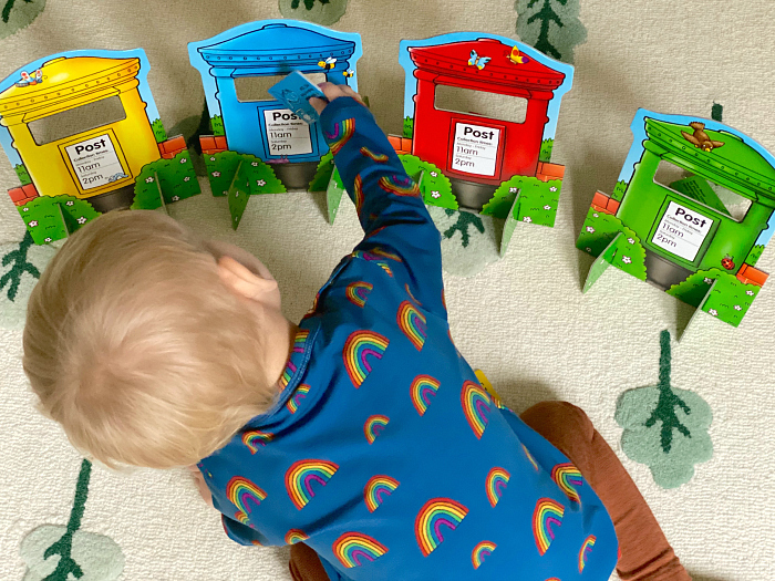 How we montessori post box game