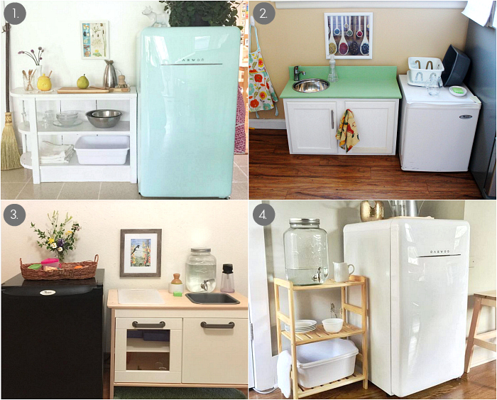 Child Size and Toddler Fridges at How we Montessori