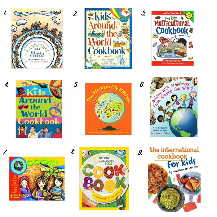 International Children's Cookbooks to Love at How we Montessori