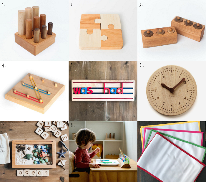 Montessori materials on Etsy at how we Montessori  2019