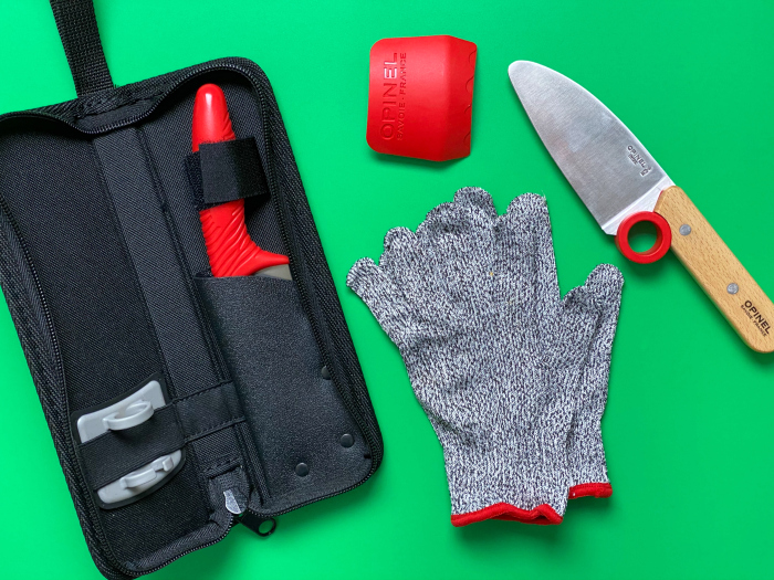 Children's chef knife and accessories at how we montessori