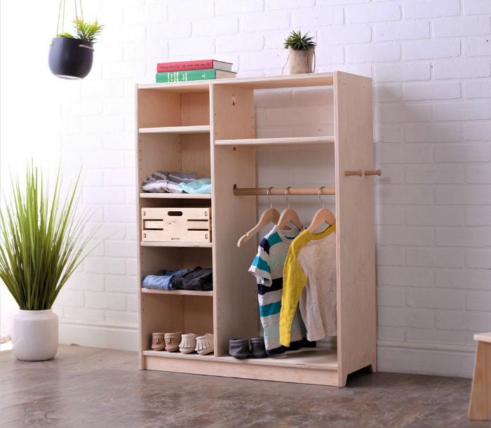 Alba Montessori toddler wardrobe at How we Montessori discount