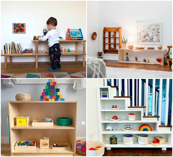 Montessori toddler spaces to love  Feb 2020