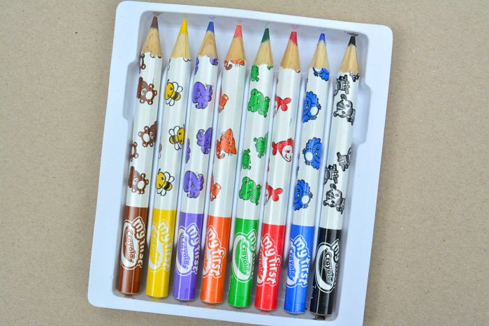 My First Crayola Pencils at How we Montessori for toddlers